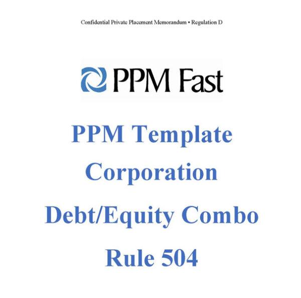 rule 504 regd ppm