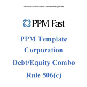 reg d equity debt ppm 506c