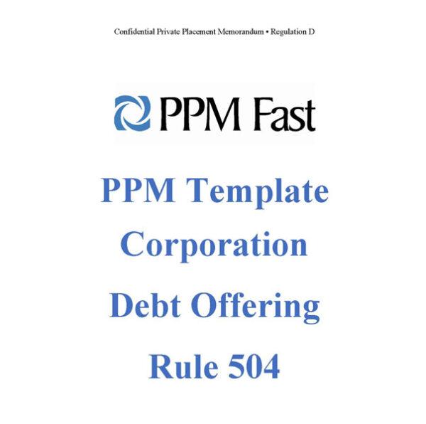 rule 504 ppm debt