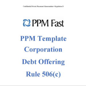 reg d ppm corp debt 506c