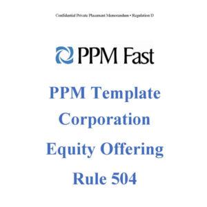 rule 504 equity ppm