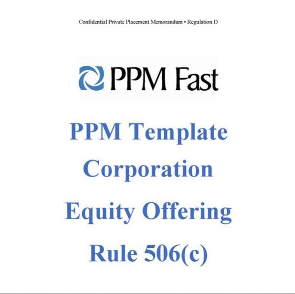 rule 506c ppm