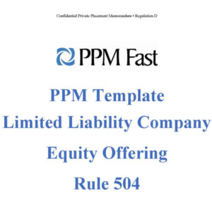 llc equity ppm