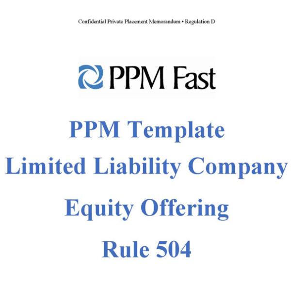 llc equity ppm