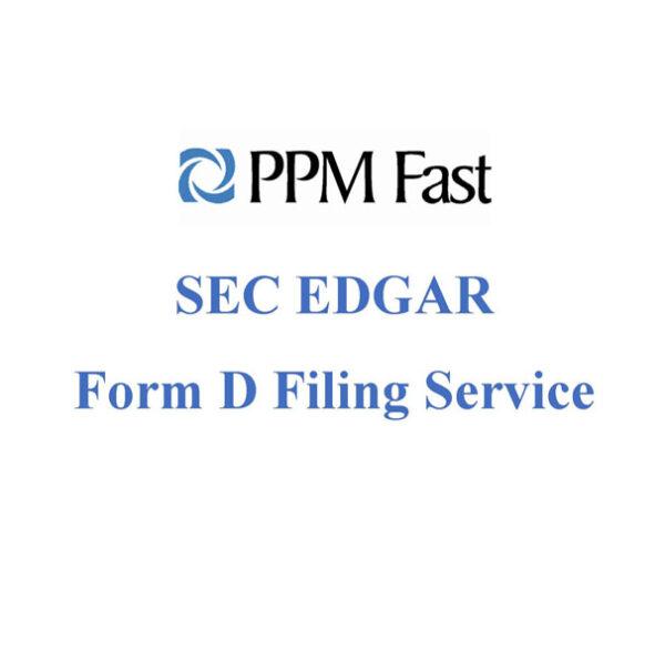 form d filing sec