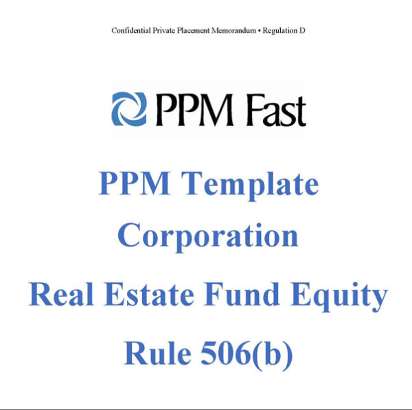 real-estate-fund-ppm-corp-506b