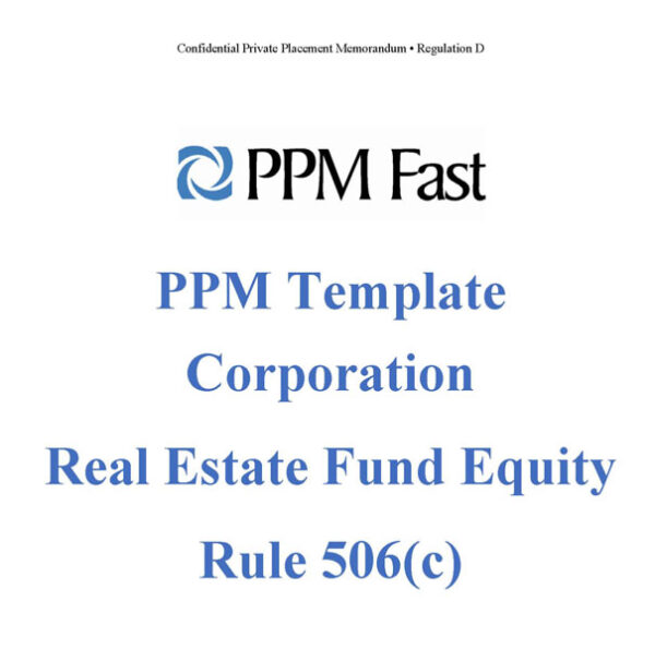 real-estate-fund-ppm-corp-506c