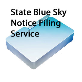 State Blue Sky Filing Service