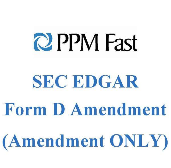 form d amendment